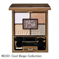 15th アニバーサリーサマーアイズ #EX01 Cool Beige Collection詳細へ